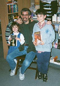 Richard Paul Russo and fan club!
