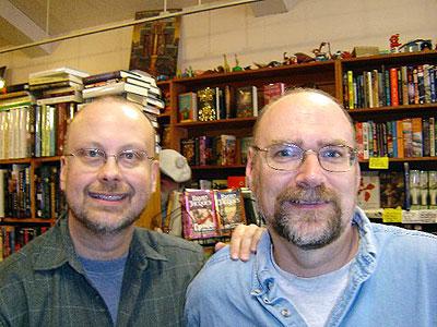 Robert Sawyer and Robert Charles Wilson
