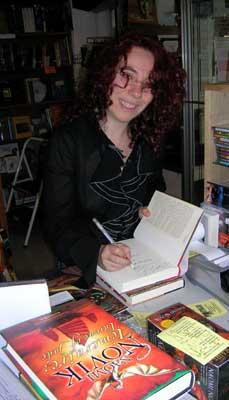 Naomi Novik signing store stock