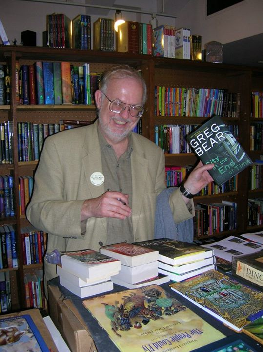 Greg Bear signing store stock