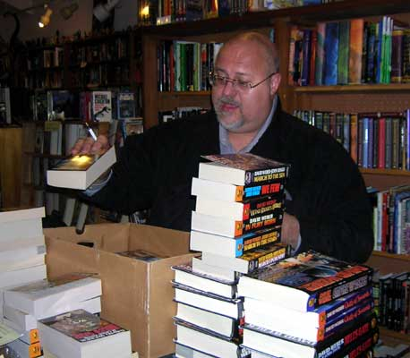 David Weber signing store stock