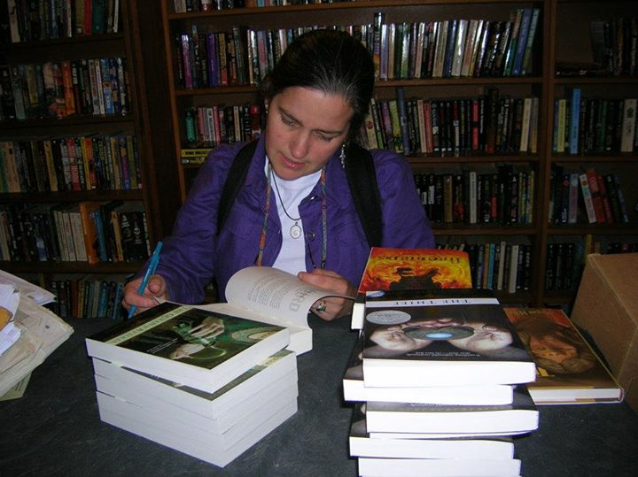 Megan Whelan Turner signing stock