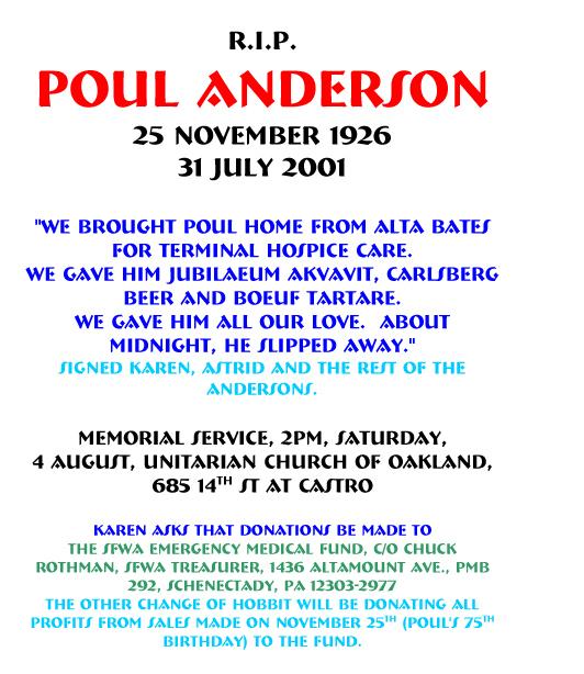 r.i.p. Poul Anderson